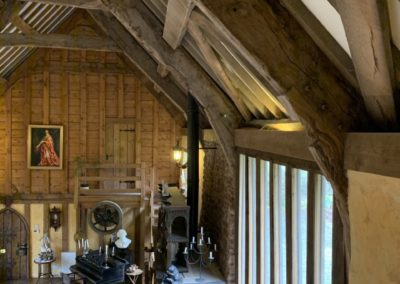The main barn / breakfast room