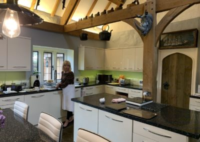 Main kitchen complete with Pauline